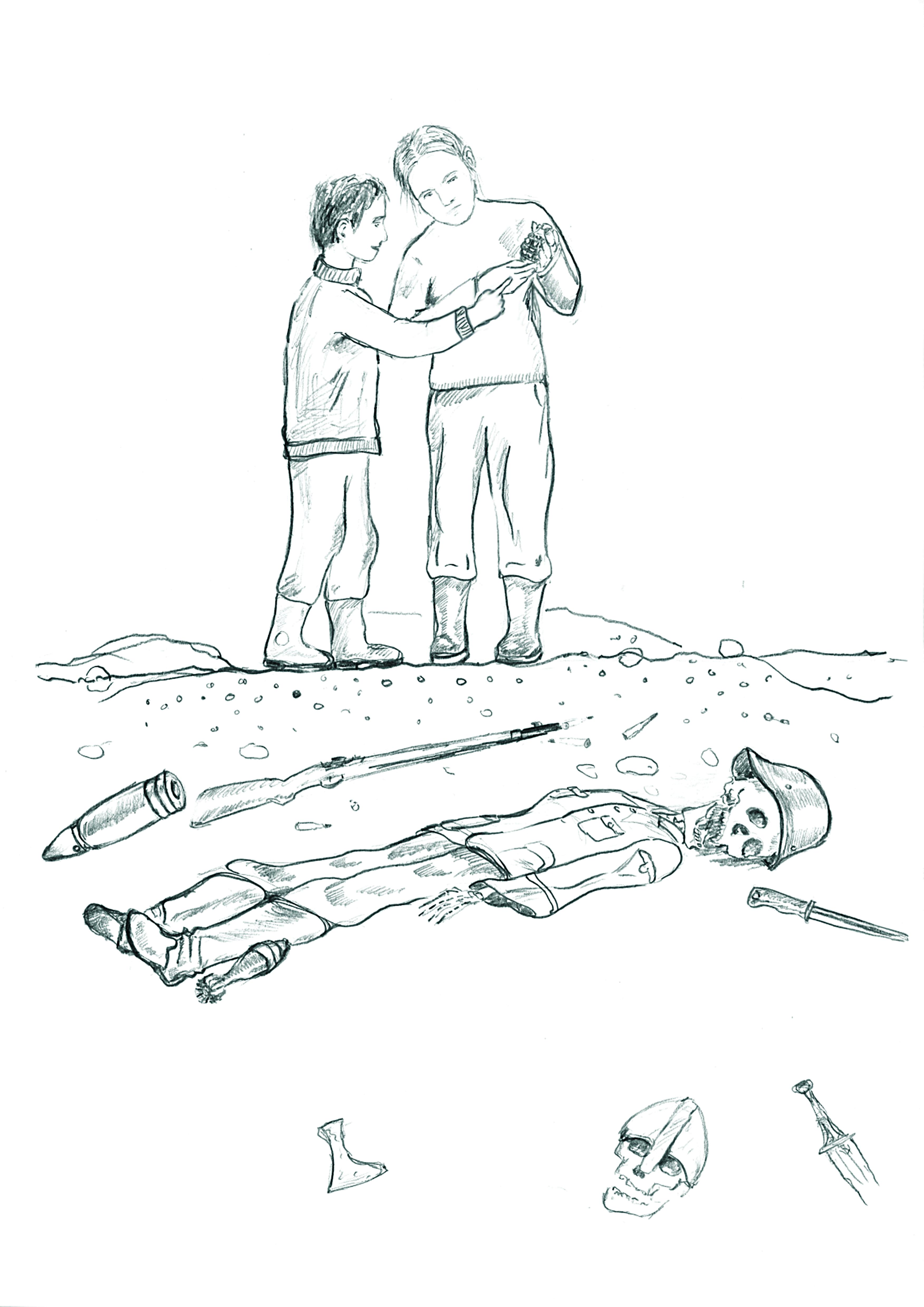 Väljakaevamised Ansekülas, hukkunud punaarmeelased maetakse ümber.