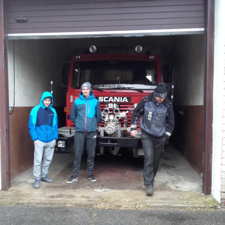 Salme vabatahtlikud päästjad ja Sassi garaaž