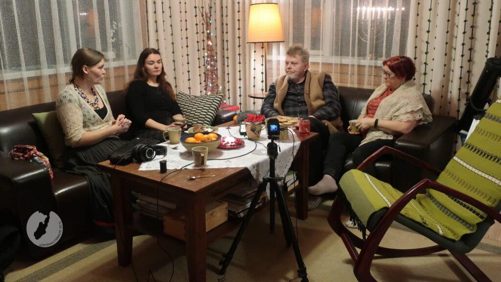 Tammeougu Mari, Tammeniidi Anu, Vipi Kaupo ja Sääse Mann