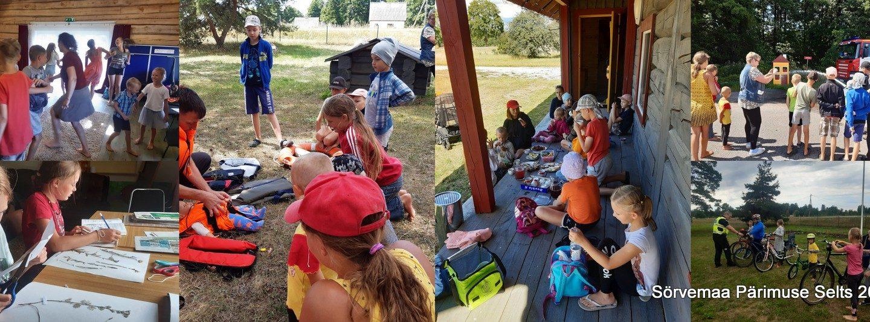 Seitse suvist lastekolmapäeva Anseküla Seltsimajas